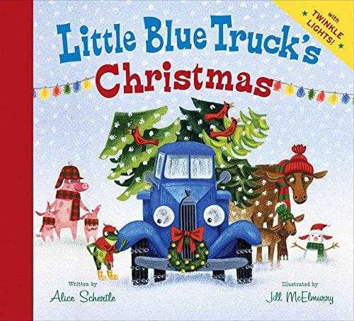 Little Blue Truck's Christmas, Children's Christmas book