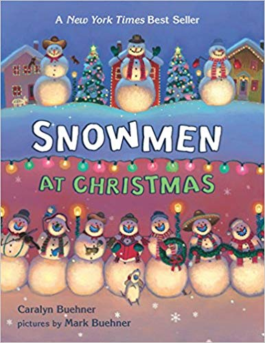 Snowmen at Christmas, Children's Christmas book