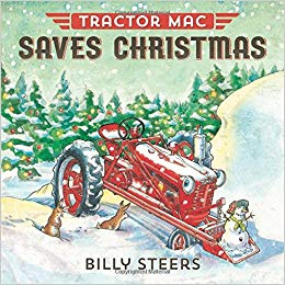Tractor Mac Saves Christmas, Children's Christmas book