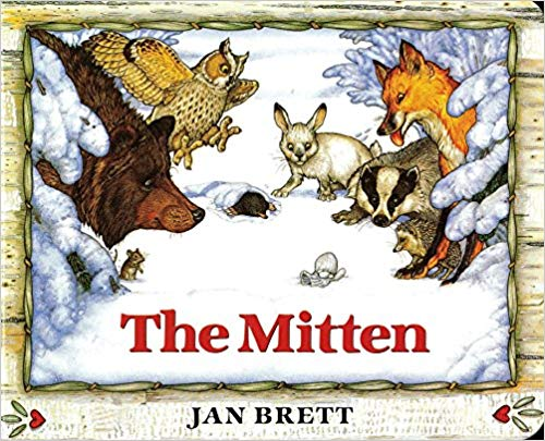 The Mitten, Snow books