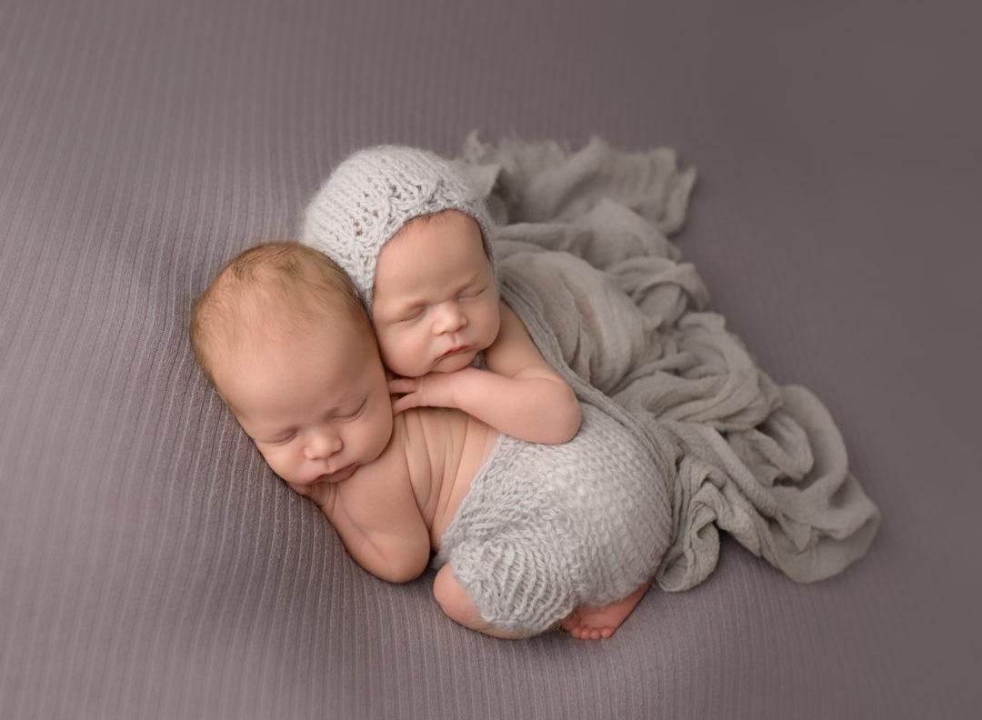 newborn twins, LVR Portraits