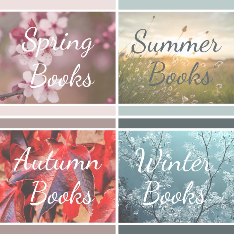 seasonal books for kids, christmas books, fall books, winter books, summer books, spring books