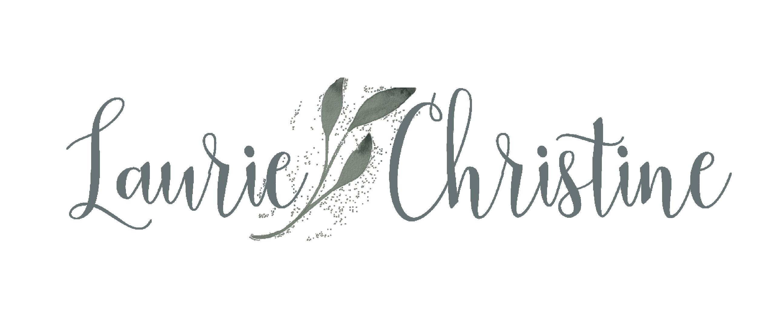 Laurie Christine Creative, new band logo