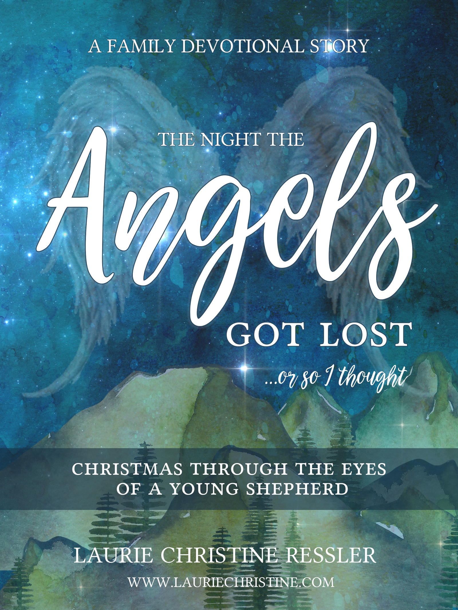 ebook, angels, shepherds, christmas, children's book,