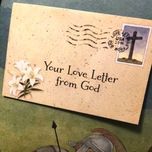 easter love letters from God, easter book, children's easter book
