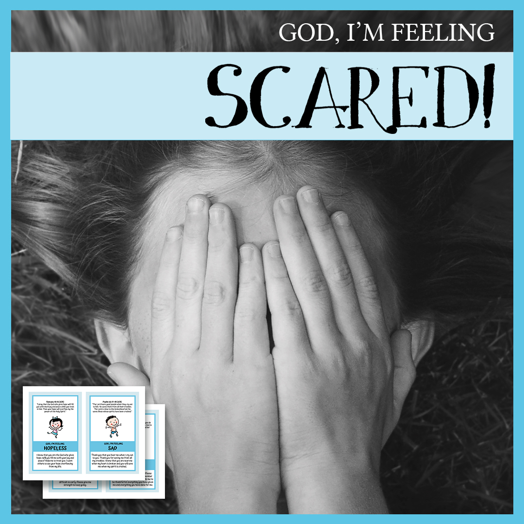feeling scared, kids emotions,