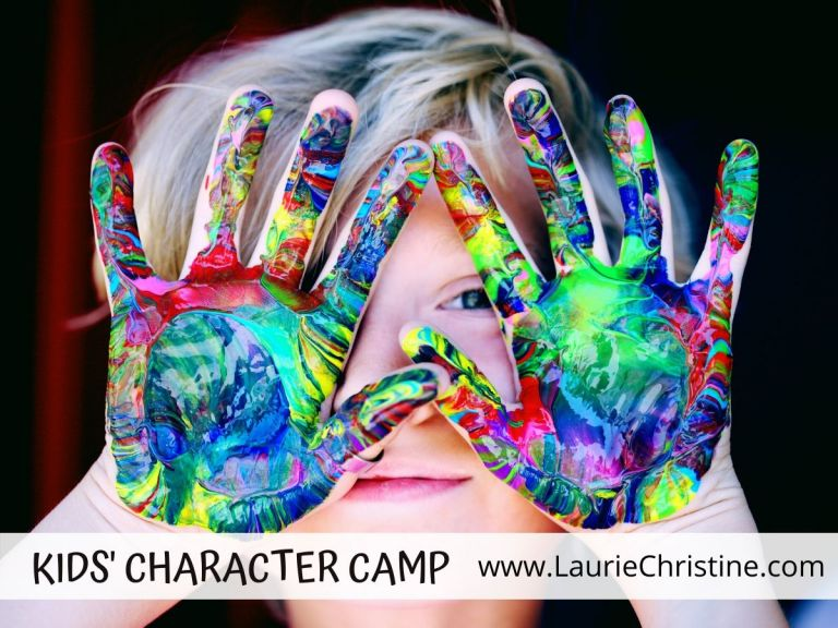 kids character camp