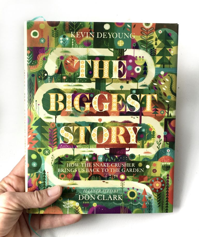 The Biggest Story, family devotions, children's Bible story