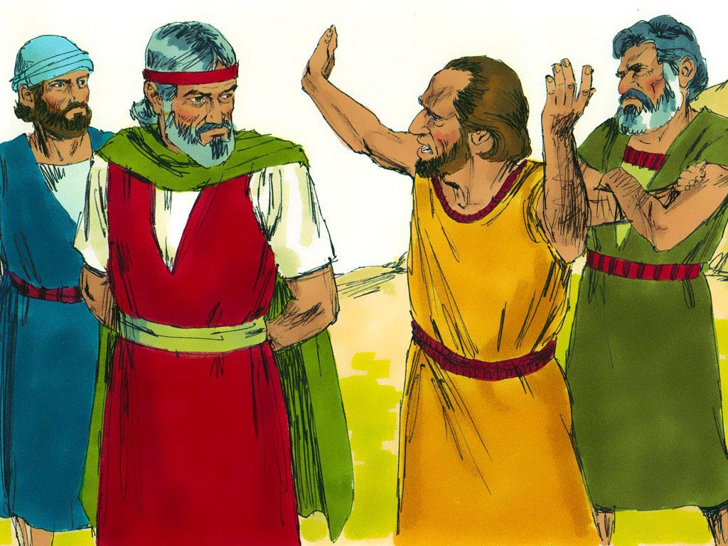 rebellious israelites