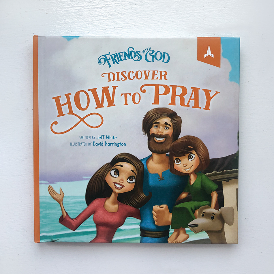 discover how to pray; children's devotional