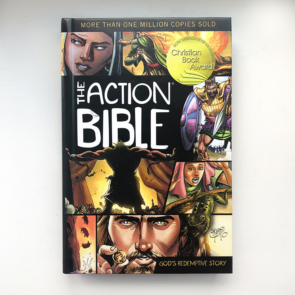 The Action Bible, children's bible story