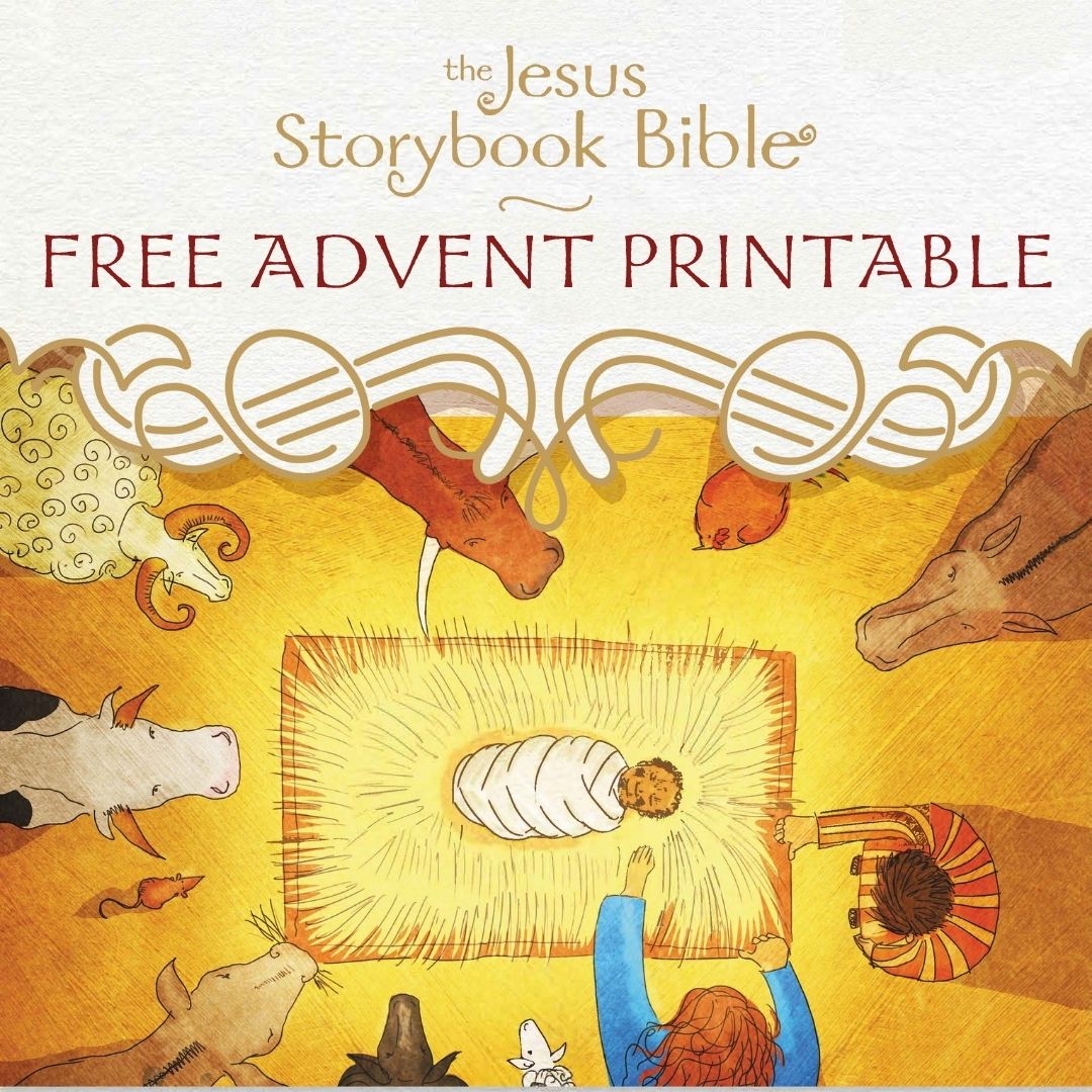 Jesus storybook bible printables