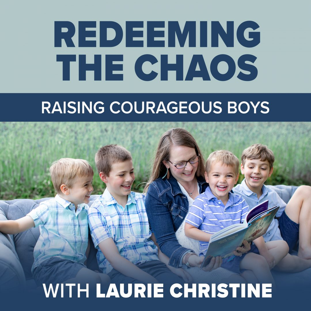 Laurie Christine, redeeming the chaos, podcast