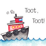 boat, boy nursery, toot too,