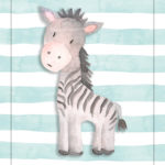 zebra, nursery print, printable, 8x10, download, digital download