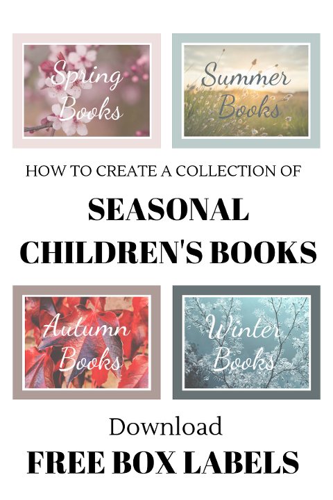 free box labels, seasonal children's books